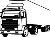 Truck Coming Coloring Page