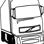 Truck Wheeler File Coloring Page