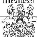 Turma Da Monica Accessibility Coloring Page