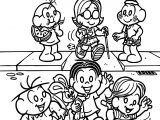 Turma Da Monica Accessibility Coloring Page