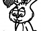 Turma Da Monica Bunny Coloring Page