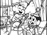 Turma Da Monica Circus Coloring Page