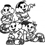 Turma Monica Kids Coloring page