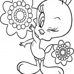 Tweety Beautiful Coloring Page