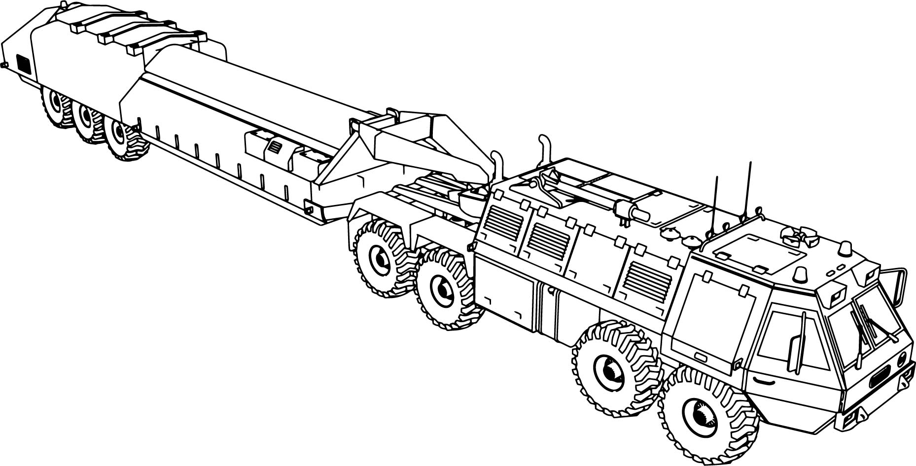 v hicule military truck coloring page. Black Bedroom Furniture Sets. Home Design Ideas
