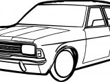 Vintage Antique Car Coloring Page