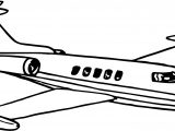 Vip Airplane Coloring Page