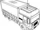 Volvo Th5 Onu Military Truck Coloring Page