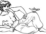 Walt Disney Prince Aladdin Walt Disney Characters Body Coloring Page