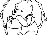 Winnie The Pooh Image Coloring Page