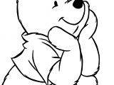 Winnie The Pooh Leaf Coloring Page