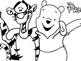 Winnie The Pooh Pals Coloring Page