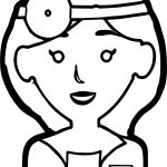 Woman Doctor Coloring Page