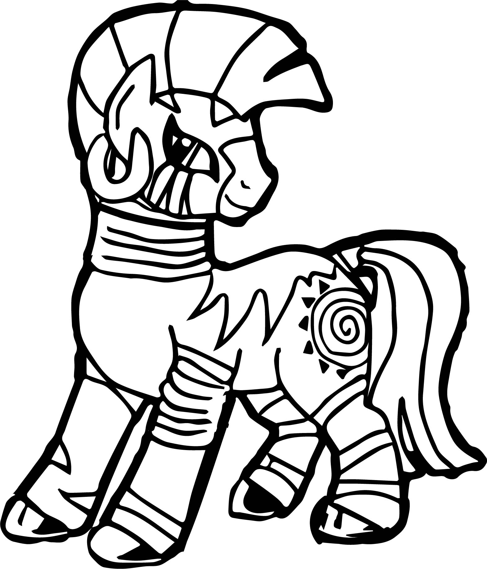 Zecora Mlp Coloring Page