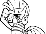 Zecora Salute Coloring Page