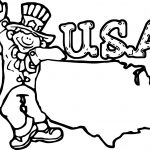 American Revolution Usa Coloring Page