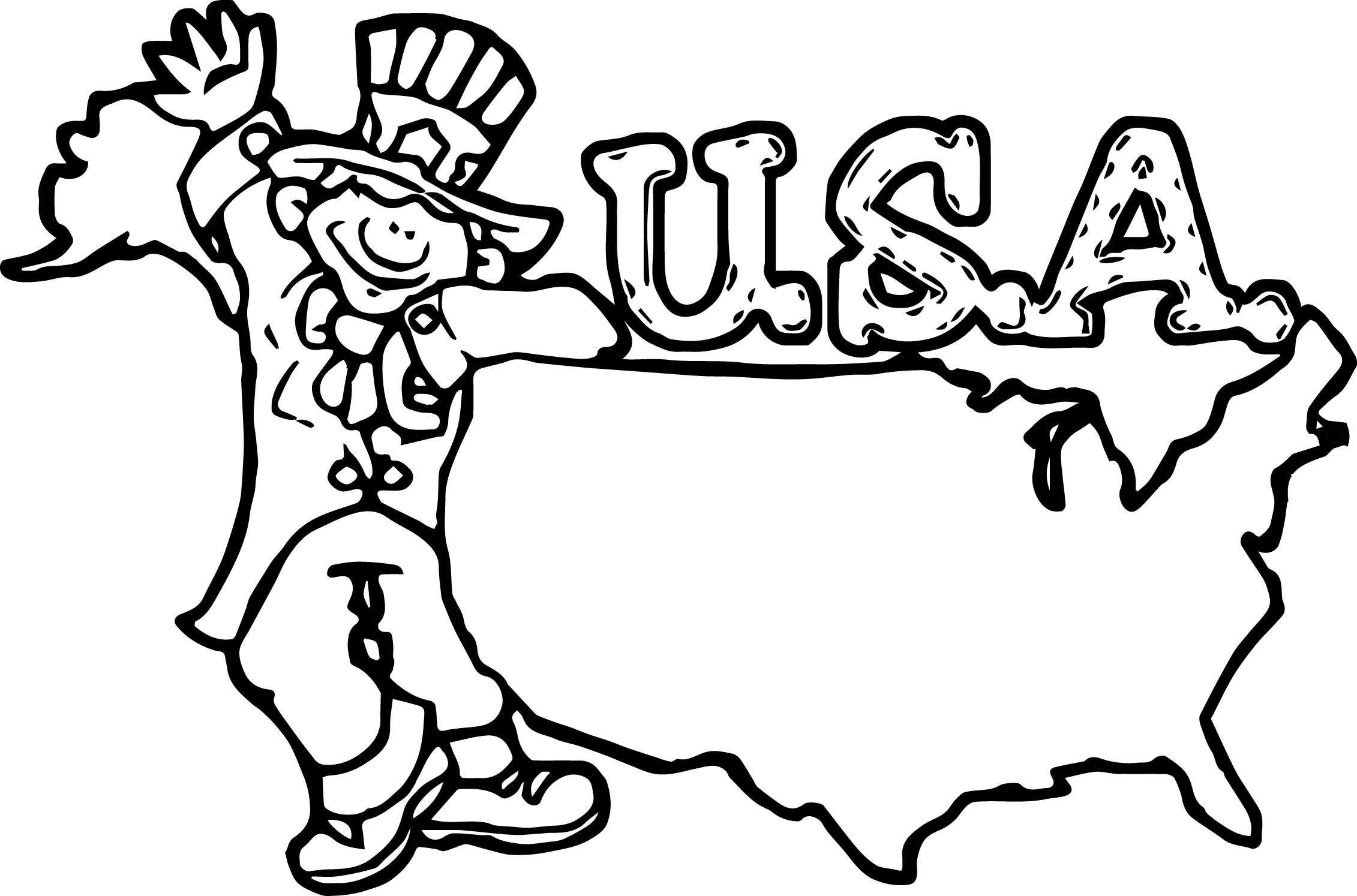American Revolution Coloring Pages Pdf : American revolution uncle sam happy birthday america
