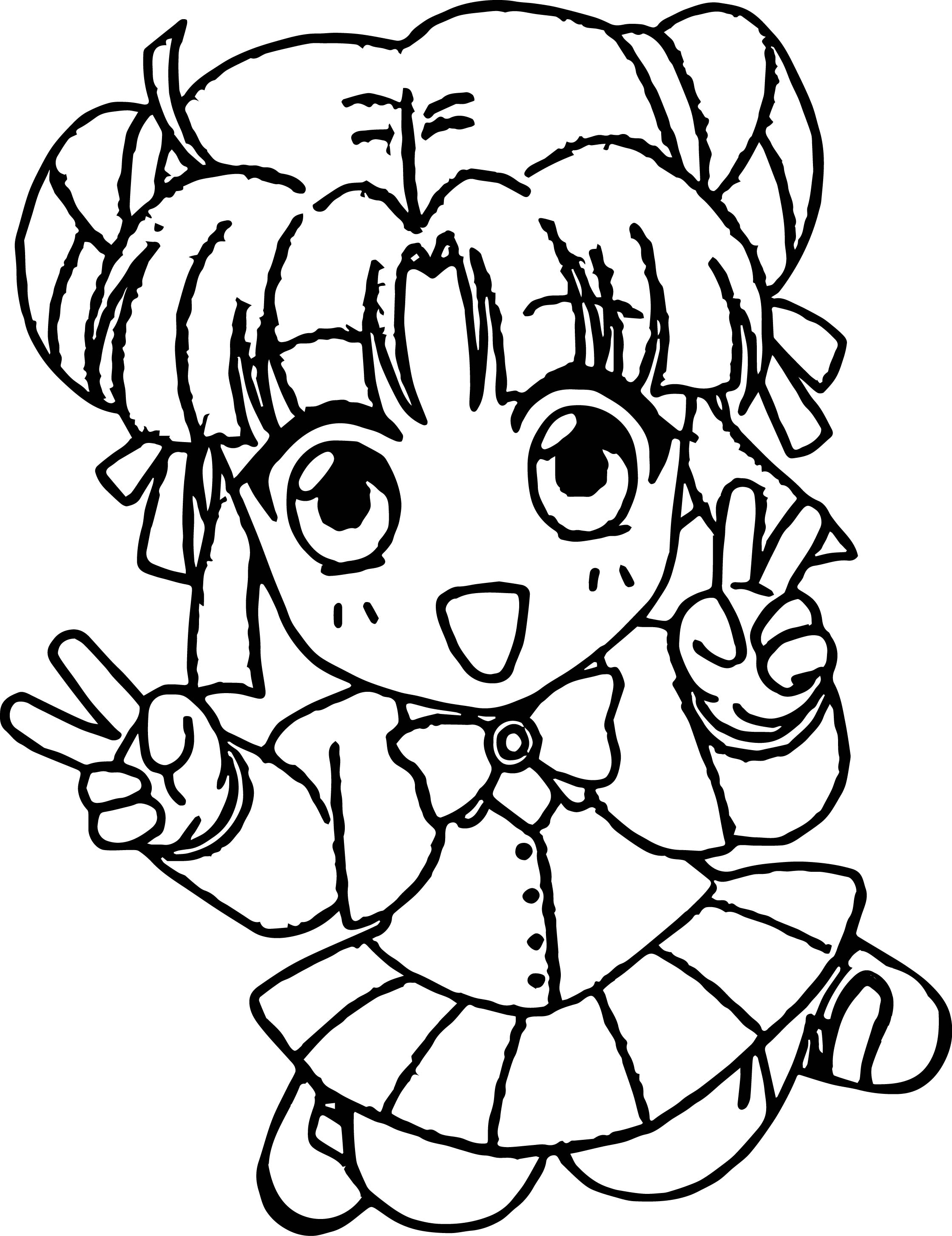 anime chibi boy coloring pages - photo#43