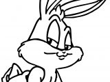 Baby Bugs Bunny Alright Coloring Page