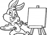 Baby Bugs Bunny Bebe Para Colorear Painting Coloring Page