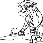 Cartoon Animal King Coloring Page