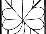 Clover Coloring Pages