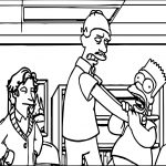 Controversial Scenes From The Simpsons After Ofcom Rules Against Homer Hanging Sequence Coloring Page