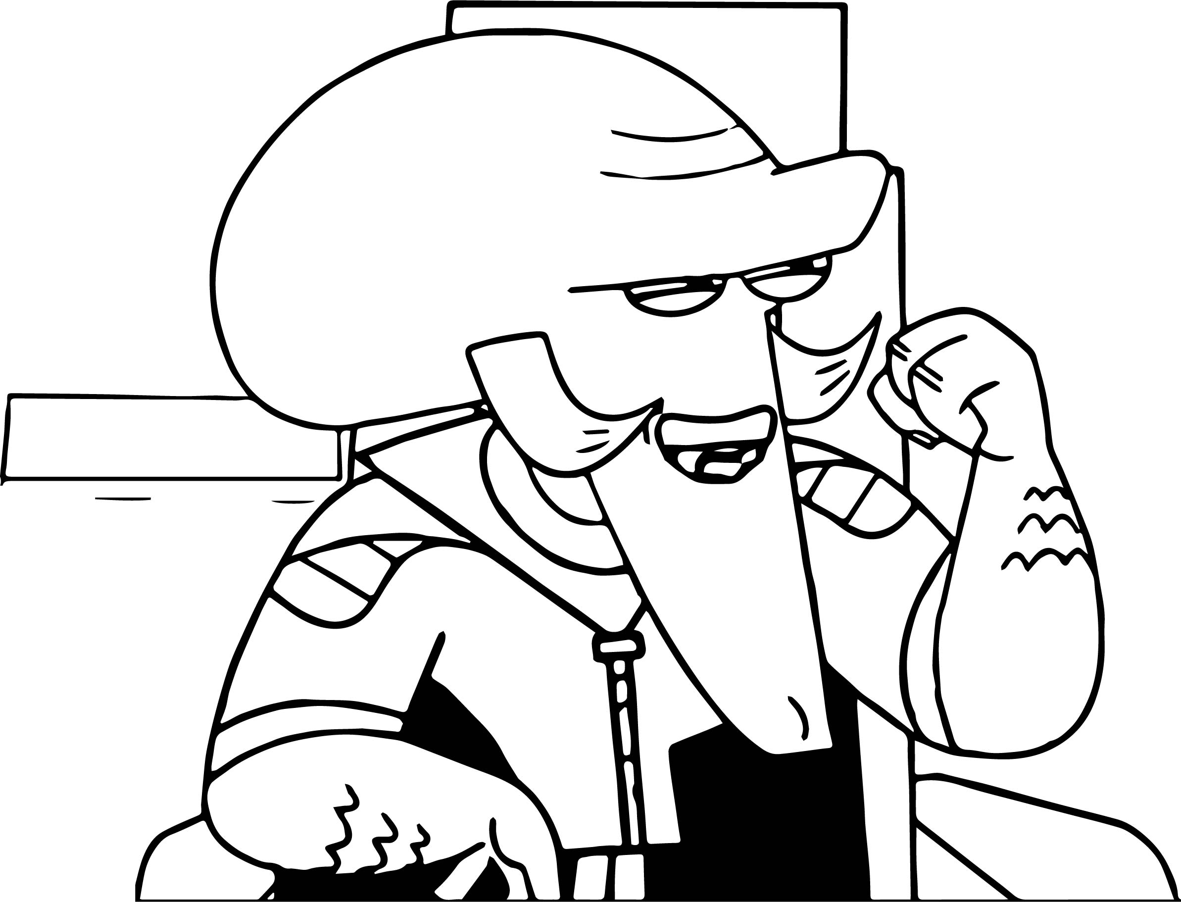 Count Venamus Coloring Page