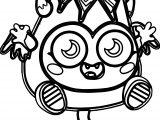 Diavlo Moshi Monsters Coloring Page