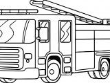 Fire Truck Free Download Coloring Page