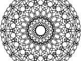 Funny Mandala Coloring Page