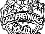 Gallifreyniacs Coloring Page