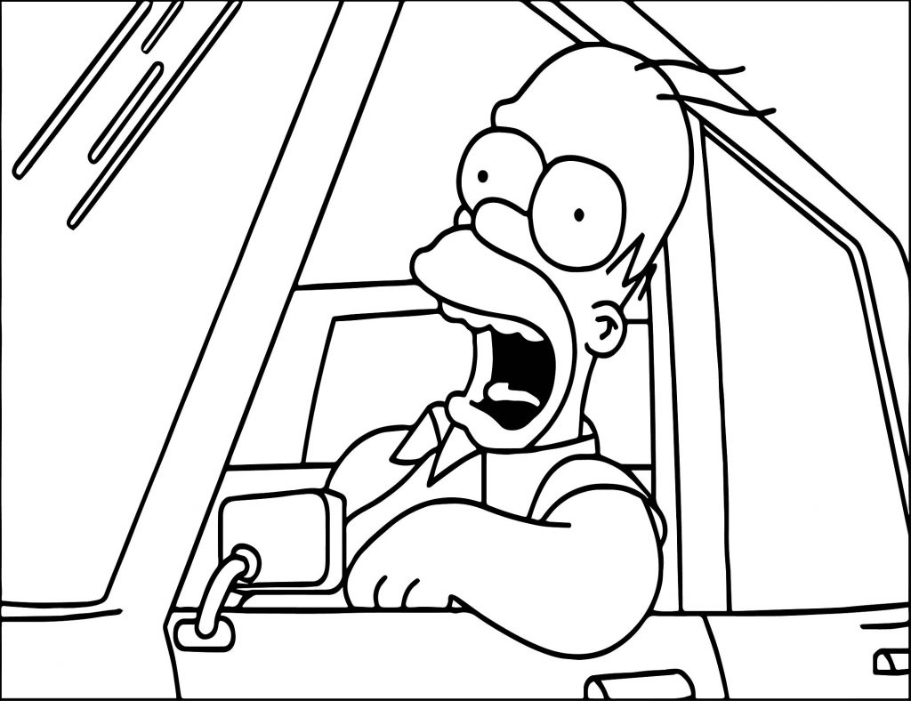 homer coloring pages - photo#26