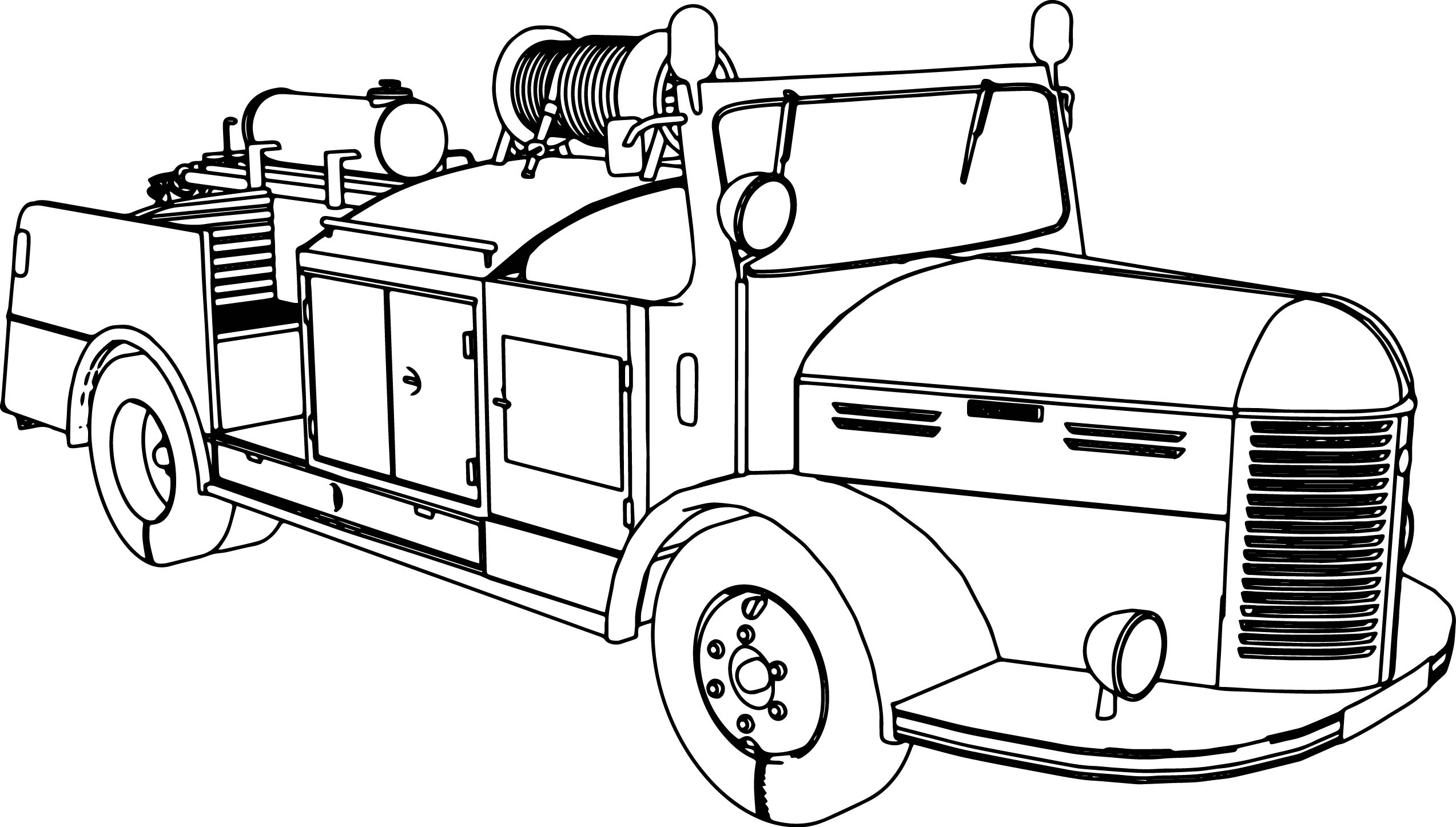 Hotchkiss H6 G54 Car Coloring Page