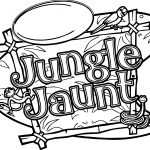 Jungle Jaunt Coloring Page