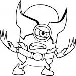 Minion Minions X Men Coloring Page
