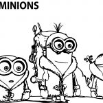 Minion Movie Minions Coloring Page