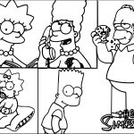 New Season Wallpapers The Simpsons Coloring Page