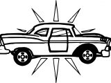 New Vintage Antique Car Coloring Page