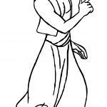 Prince Aladdin Ready Coloring Page