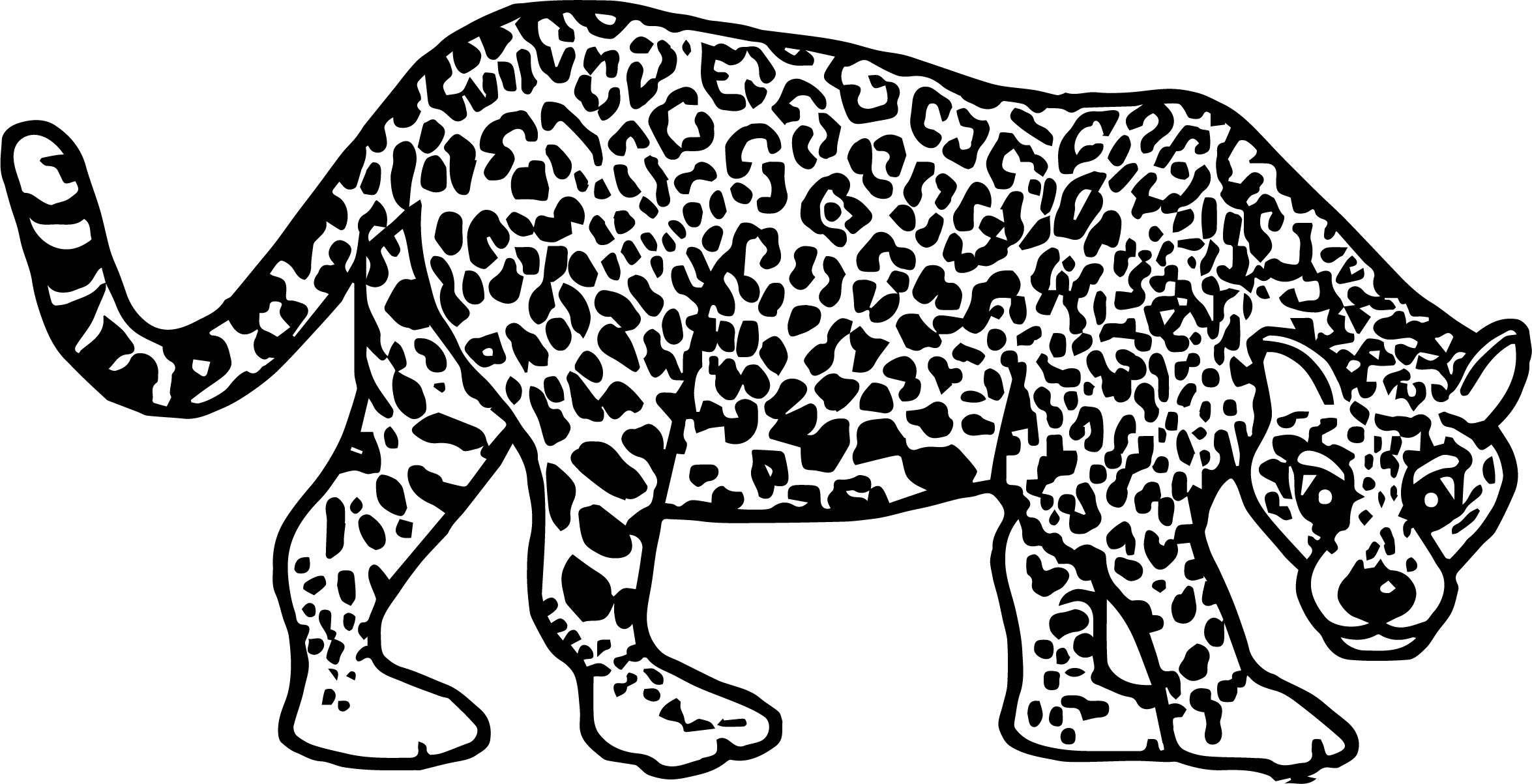 Baby jaguar coloring pages - dinocro.info