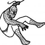Spider Man Catch Him Coloring Page