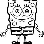 Sponge Sunger Bob SquarePants Step Coloring Page