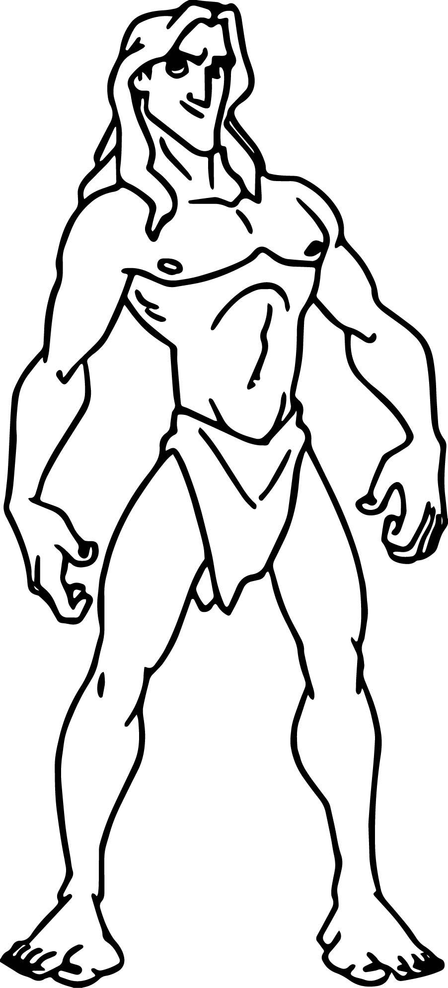 Tarzan 2 coloring pages