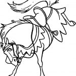 The Hunchback Of Notre Dame H Horse Coloring Page