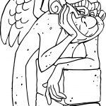 The Hunchback Of Notre Dame Laverne On Stone Coloring Page