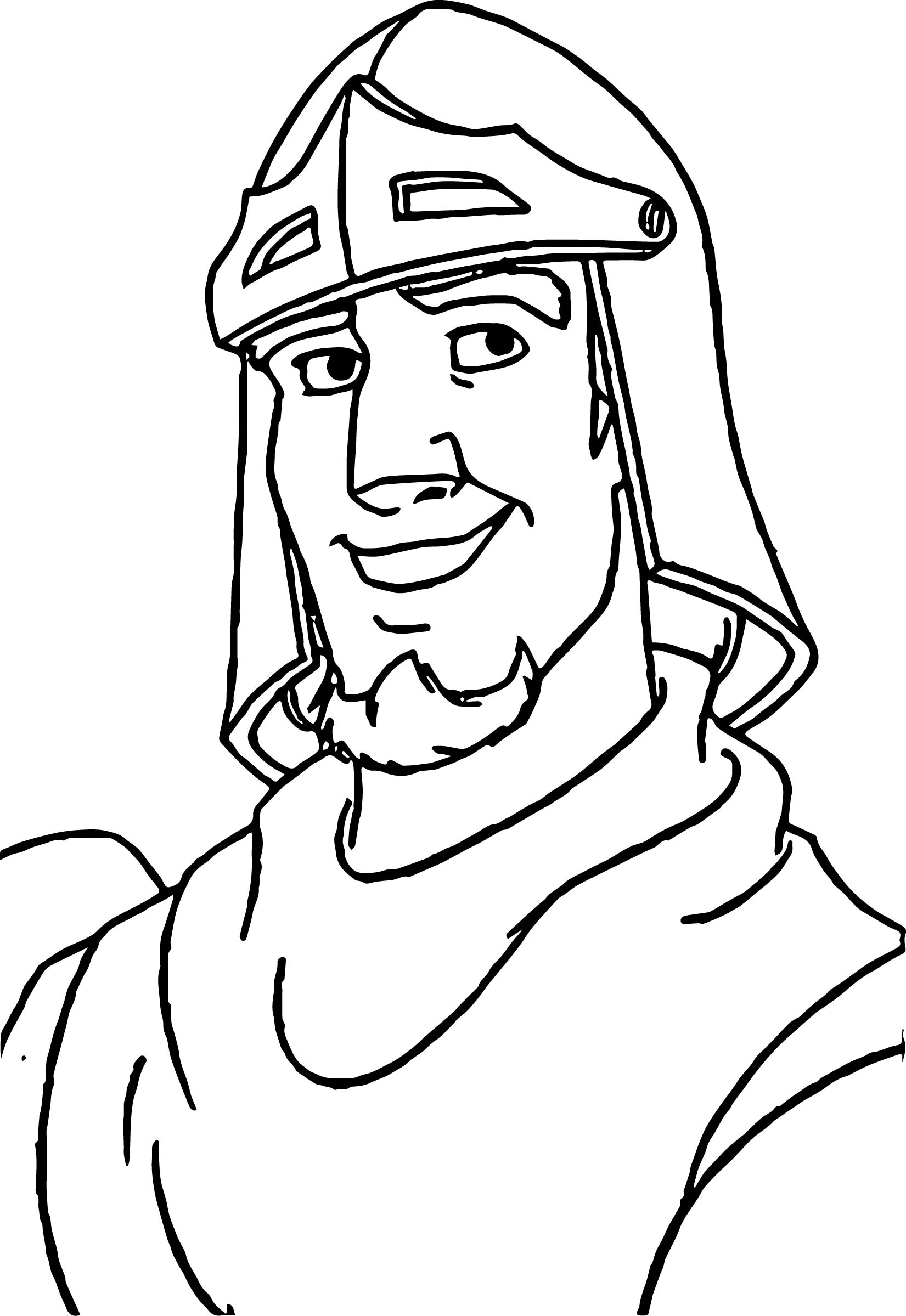 The Hunchback Of Notre Dame Phoebus Soldier Coloring Page