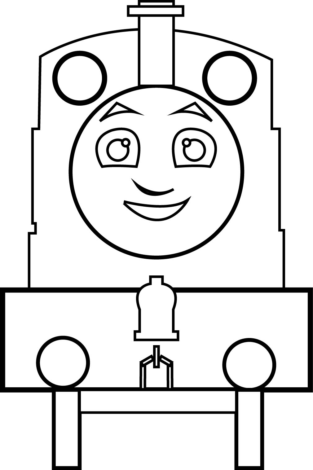 Thomas The Tank Train Engine Number 5 Coloring Page