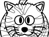 Tiger Amazon Cat Coloring Page