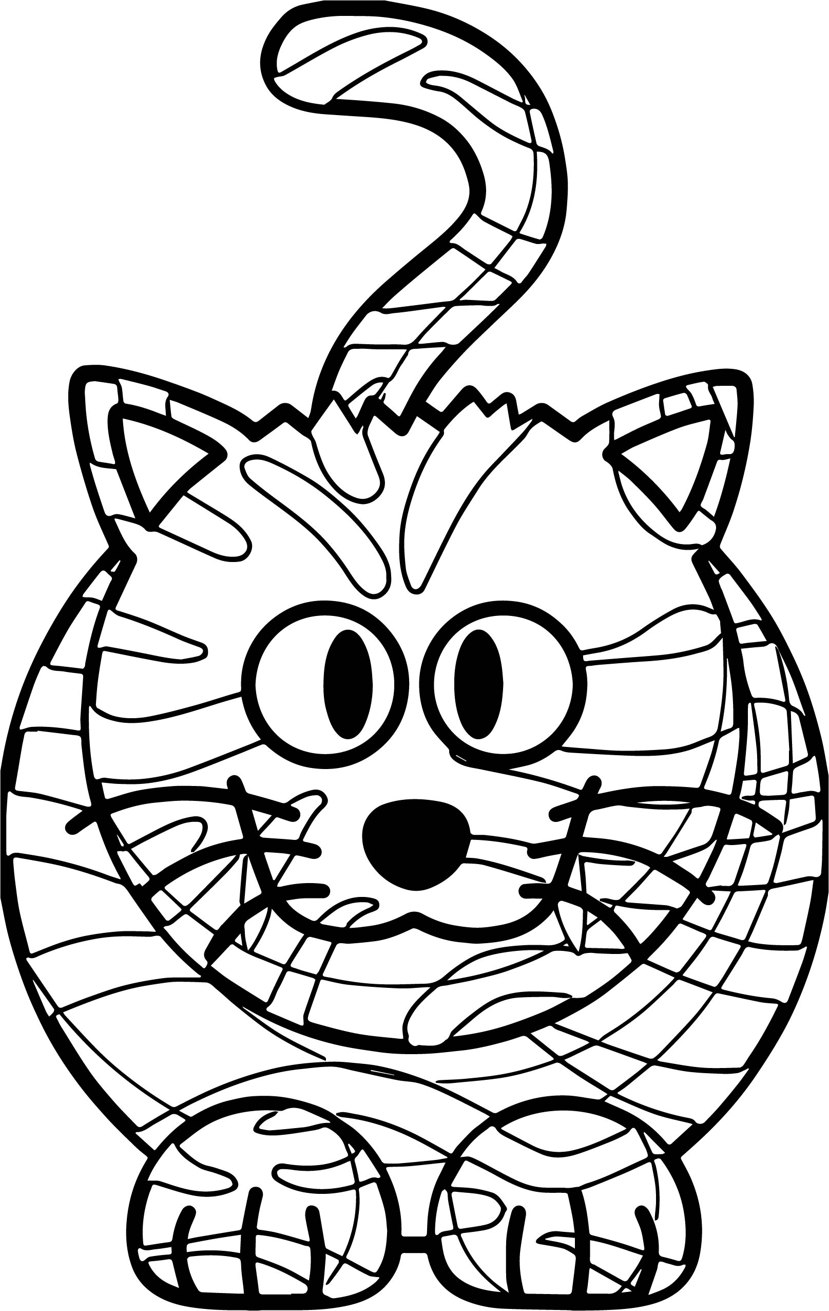 cat dreaming coloring pages - photo#47